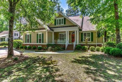 Murrells Inlet Single Family Home Active-Pend. Cntgt. On Financi: 4502 Wagon Run Circle