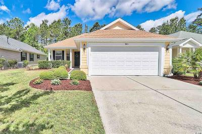 Murrells Inlet Single Family Home Active-Pend. Cntgt. On Financi: 881 Laquinta Loop