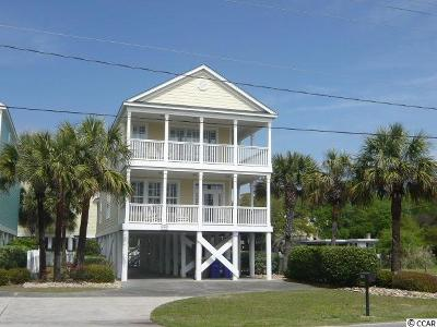 Myrtle Beach, Surfside Beach, North Myrtle Beach Single Family Home For Sale: 1414 B N Ocean Blvd.