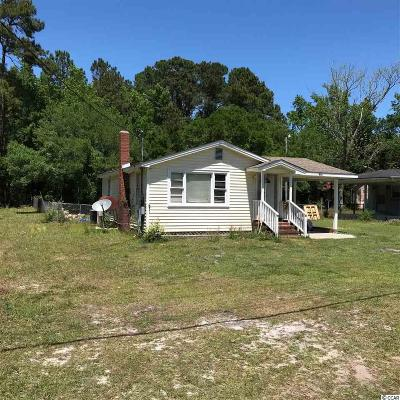 Pawleys Island Single Family Home For Sale: 872 Martin Luther King Rd