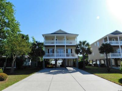 Garden City Beach Single Family Home For Sale: 502 Rainbow Dr