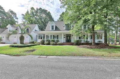 Pawleys Island Single Family Home For Sale: 154 Turtle Creek Drive