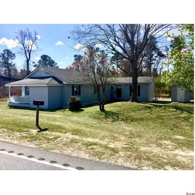 Loris Single Family Home Active-Hold-Don't Show: 908 E Hwy 9 Bus
