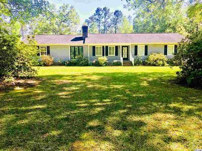 Galivants Ferry SC Single Family Home Active-Pend. Contingent Contra: $179,900