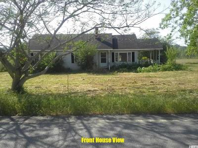 Conway Single Family Home Active-Pend. Contingent Contra: 4301 NE S.c. Highway #65