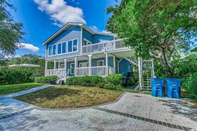 Myrtle Beach Single Family Home For Sale: 6703 North Ocean Blvd