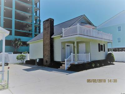 North Myrtle Beach Single Family Home For Sale: 205c N 4th Avenue
