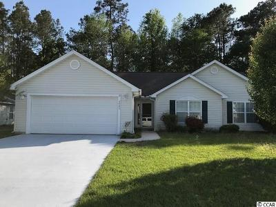 Horry County Single Family Home Active-Pend. Contingent Contra: 3022 Oak Manor Dr.