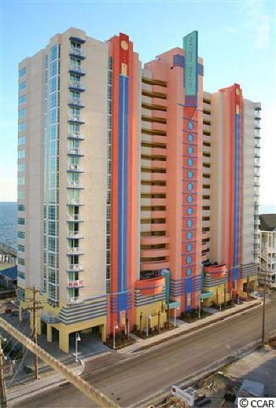 North Myrtle Beach Condo/Townhouse For Sale: 3500 N Ocean Blvd. #810
