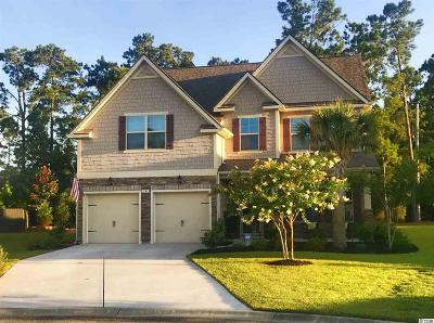 Murrells Inlet Single Family Home For Sale: 18 Cyclamen Court