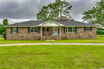 Horry County Single Family Home For Sale: 4585 Enoch Road