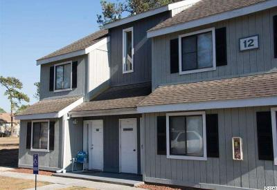Surfside Beach SC Condo/Townhouse Sold: $43,000