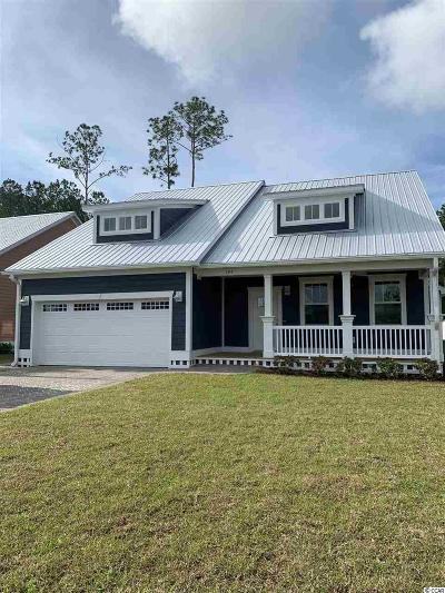 Murrells Inlet Single Family Home For Sale: 394 Waties Drive