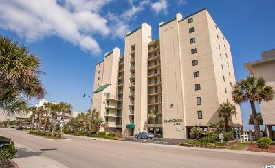 North Myrtle Beach Condo/Townhouse For Sale: 4505 S Ocean Blvd. #7C