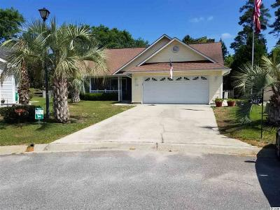 Murrells Inlet Single Family Home For Sale: 2487 Oriole Drive
