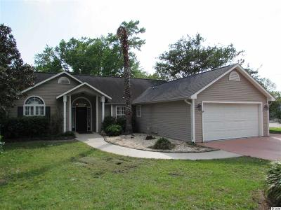 North Myrtle Beach Single Family Home For Sale: 3007 Diane Circle