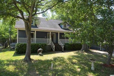 Murrells Inlet Single Family Home Active-Pend. Cntgt. On Financi: 525 Surfwind Dr W.