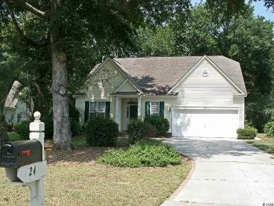 Pawleys Island Single Family Home Active-Pend. Cntgt. On Financi: 24 Pierpont Court