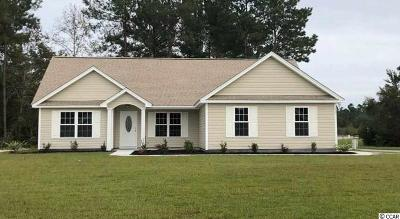 Georgetown Single Family Home Active-Pend. Cntgt. On Financi: Lot 5 Tbd Oak Landing Trail