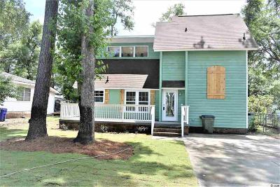 Surfside Beach Single Family Home For Sale: 617 Cypress Drive