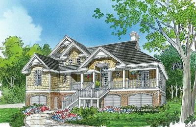 Surfside Beach Single Family Home For Sale: 712 N Dogwood Drive