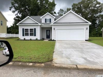 Loris Single Family Home Active-Pend. Cntgt. On Financi: 472 Cotton Grass Dr