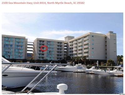 North Myrtle Beach Condo/Townhouse For Sale: 2100 Sea Mountain Hwy #414