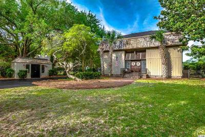 Murrells Inlet Single Family Home For Sale: 539 Mt. Gilead Road