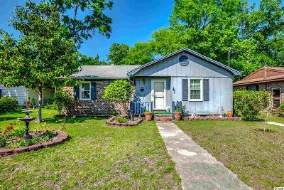 Surfside Beach Single Family Home For Sale: 654 2nd Ave. N