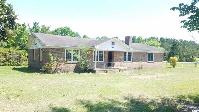 Loris Single Family Home For Sale: 3453 Shell Pond Lane