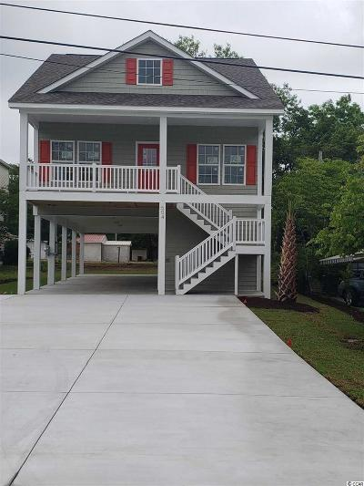 North Myrtle Beach Single Family Home Active-Pending Sale - Cash Ter: 504 21st Ave South
