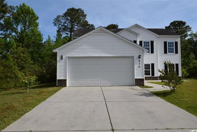 Myrtle Beach Single Family Home For Sale: 978 Willowbend Dr