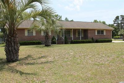 Murrells Inlet Single Family Home Active-Pending Sale - Cash Ter: 11175 McDowell Shortcut Road