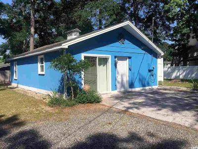 Garden City Beach Single Family Home Active-Pending Sale - Cash Ter: 344 Cypress Ave.