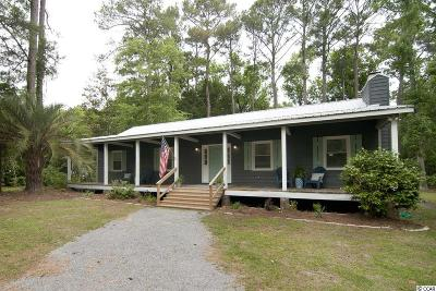 Pawleys Island Single Family Home For Sale: 260 Woodville Circle