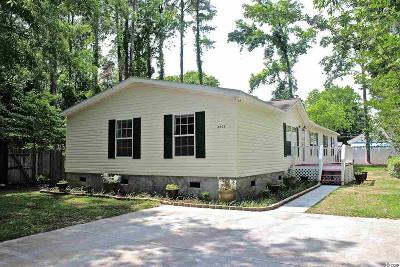 North Myrtle Beach Single Family Home For Sale: 2806 Wiley Drive