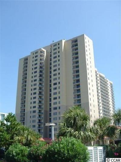 Myrtle Beach Condo/Townhouse For Sale: 8560 Queensway Blvd. #1407