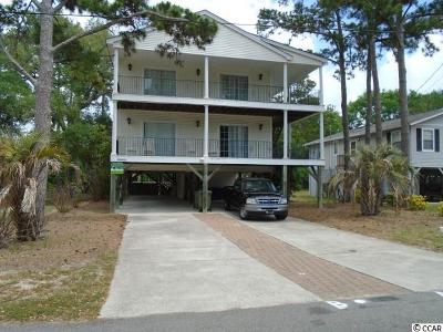 Surfside Beach Multi Family Home For Sale: 304 S 12th Ave.