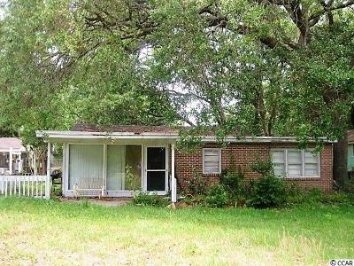 Surfside Beach Single Family Home Active-Hold-Don't Show: 612 4th Ave. S