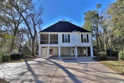 Murrells Inlet Single Family Home For Sale: 830 Channel Cat Cove
