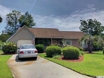 Murrells Inlet Single Family Home For Sale: 1408 Pelican Court