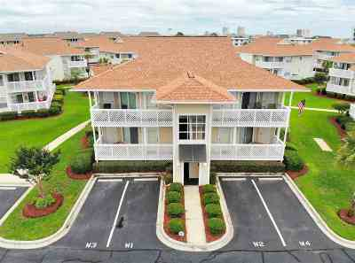 North Myrtle Beach Condo/Townhouse For Sale: 300 Shorehaven Drive #W4