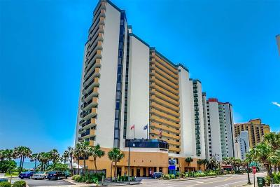 Myrtle Beach, North Myrtle Beach Condo/Townhouse For Sale: 2710 N Ocean Blvd #326