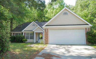 Myrtle Beach Single Family Home Active-Pending Sale - Cash Ter: 423 Highland Ridge Drive