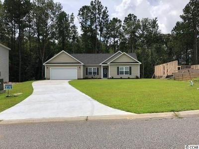 Loris Single Family Home For Sale: 129 Winding Path Dr