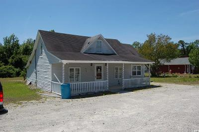 Loris Single Family Home For Sale: 898 E Hwy 9 Bus.
