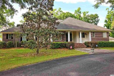 Murrells Inlet Single Family Home For Sale: 1510 Running Water Rd