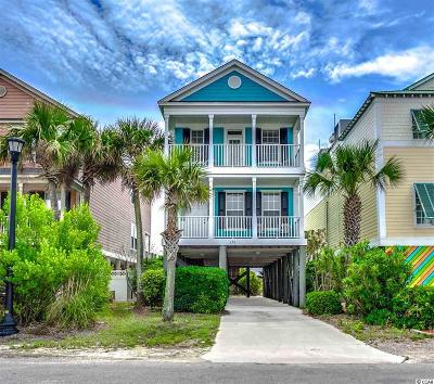 Surfside Beach Single Family Home For Sale: 13a N Seaside Drive