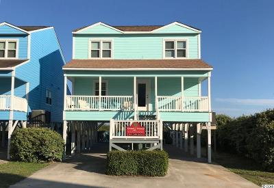 North Myrtle Beach Single Family Home For Sale: 4012 N Ocean Blvd