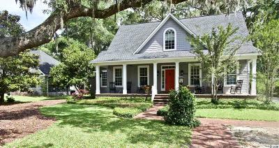 Murrells Inlet Single Family Home Active-Pending Sale - Cash Ter: 5092 Spanish Oaks Ct